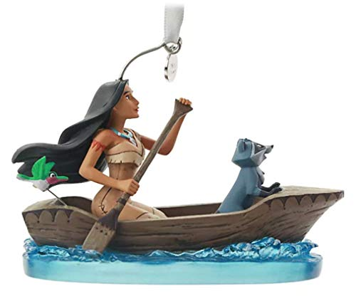 Disney Store Pocahontas Hanging Ornament with Meeko