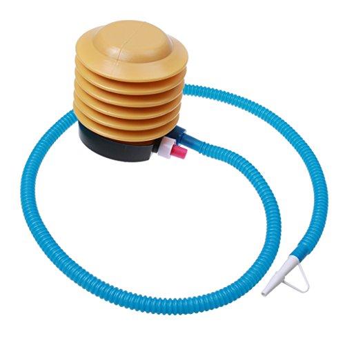 Sharplace Mehrzweck Fuß Luftpumpe für Gymnastikball Luftballon Schwimmring Fußpumpe