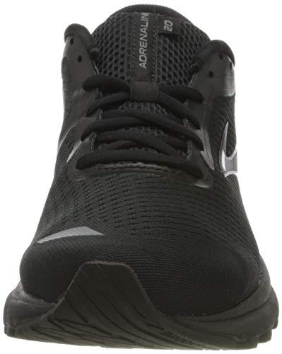 Brooks Mens Adrenaline GTS 20 Running Shoe - Black/Grey - D - 10.0 3