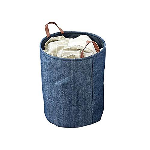 WESEEDOO wäschekorb Baby wäschekorb Kinder Babykorb zur Aufbewahrung von Kleidung Spielzeugkorb Baby Wäschekorb Spielzeug Aufbewahrungskorb