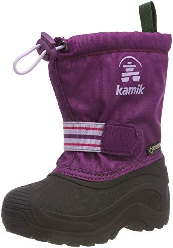 Kamik Invadegtx dziecięce buty zimowe, fioletowy - Violett Grape Gra - 37 EU
