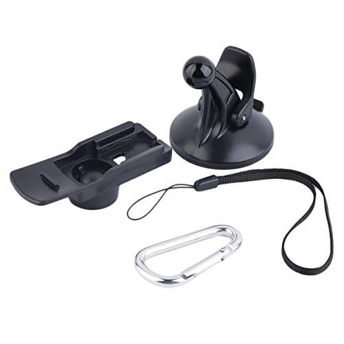 healthwen Supporto per Staffa di Montaggio a Ventosa per Parabrezza Auto per Garmin eTrex 10 20 30