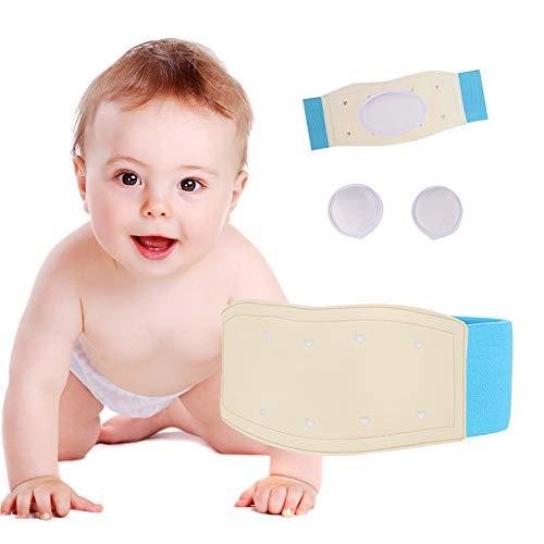 Hernie ombilicale ceinture bébé bande de ventre infantile liant abdominal pour hernie soutien Truss enfants nombril nombril bande nouveau-né bébé fournitures réglable Emballage