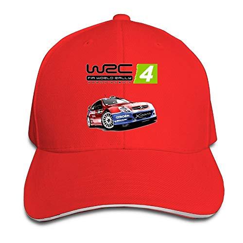 II WRC 4 Fia World Rally Championship Sandwich Peaked Baseball Caps/Hats Adjustable For Unisex Sombreros y Gorras