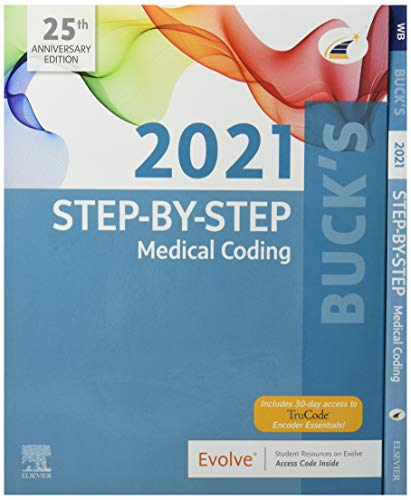 Buck's Step-by-Step Medical Coding, 2021 Edition – Text and Workbook Package