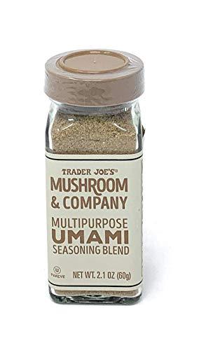 Trader Joe's Mushroom and Company mezcla de condimento Umami multipropósito, 2 onzas, 4 unidades