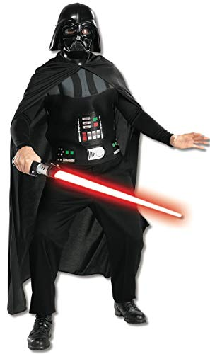 Rubie 's – Disfraz Star Wars Darth Vader Máscara y chestpiece, color negro, talla M