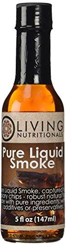 Living Nutritionals All-Natural Pure Liquid Smoke 5oz (147ml)
