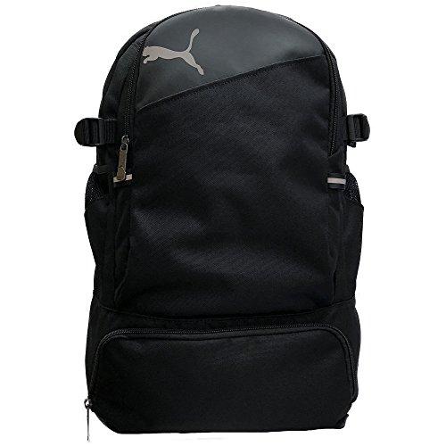【プーマ】PUMA バックパック 多機能 レインカバー付き 28L J20031 (ブラック)