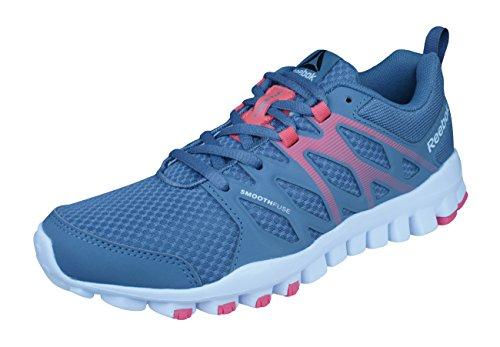 Reebok Womens Running Sneakers Realflex Train 4.0 Training Shoes-Grey-7