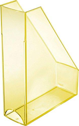 Helit Economy H2361411 Portariviste, formato A4/C4, colore: giallo/trasparente