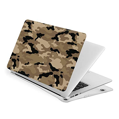 Woodland Camo MacBook Air 13 inch Case Release A1932 Cute Hard Shell Cover for New Version Mac Air 13