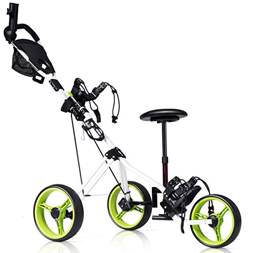 Tangkula Golf Push Cart