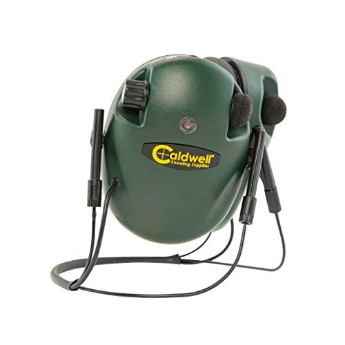 Caldwell E-Max - ADULT Green Behind the Neck - Low Profile Electronic 21 NRR Hearing Protection with...