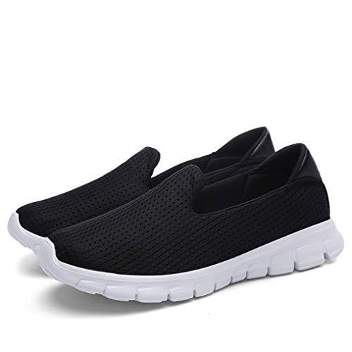 Zapatillas de Deporte de Moda para Mujer Zapatillas de Deporte de Verano Caminar adelgazantes de Corte bajo para Mujer Zapatillas de Deporte Transpirables de Plataforma Baja al Aire Libre