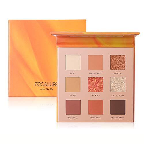 UCANBE BELLE Lidschatten-Palette Hohe Pigment Schatten Glatte Matte Glitter Lidschatten Täglich...