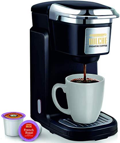 Dolché K-Cups ONE - Maschine für Amerikanische Kaffeepads - Keurig 2.0 und Kompatible Kapseln