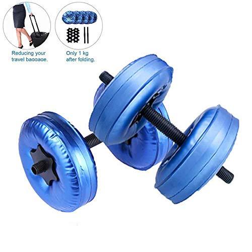 Arontome - Mancuernas rellenas de agua para fitness (8-10 kg)
