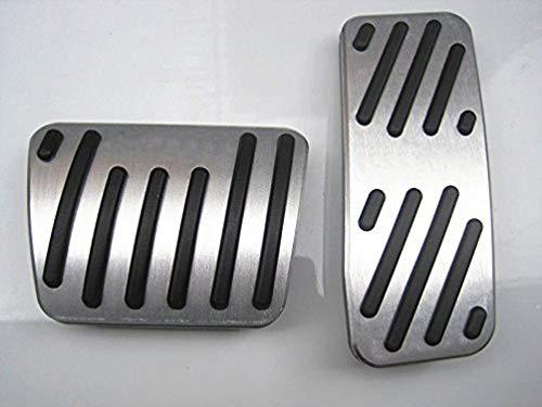 pedali pedale tappi Per Cherokee,Pedale per macchine con cambio automatico Pedali poggiapiede alluminio con Gomma Antiscivolo