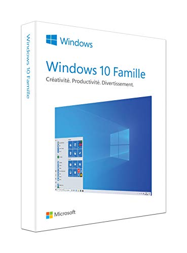 WINDOWS FAMILLE 10 | P2 32-bit/64-bit | French | USB