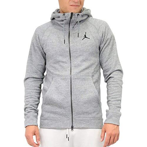 Nike Herren Jordan Sportswear Wings Fleece Hoodie Grau M