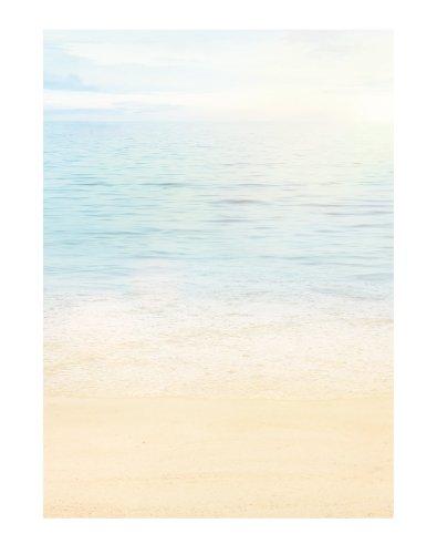 LYSCO Motiv Briefpapier (Meer-Strand-5013, DIN A4, 25 Blatt). Einseitig bedrucktes Briefpapier, sehr gut beschreibbar, Motivpapier für alle Drucker/Kopierer geeignet