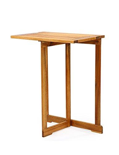Simple Nostalgic Table Pliante en Bois Retro Folding Table Bois Massif