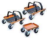 LIBRA 3 Pcs Snowmobile Moving Dolly Set 1500 lbs Capacity-27020