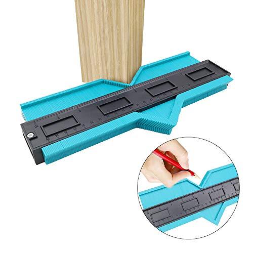 Smartey Woodworking Tools Irregular Arc Gauge Contour Measuring Instrument Profile Copying Ruler Multifunctional Irregular Shaper Scale