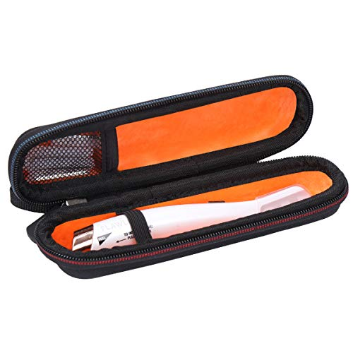 Mchoi Hard Portable Case Fit for Finishing Touch Flawless Dermaplane Glo Hair Remover Tool(Case Only)