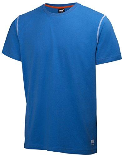 Helly Hansen Workwear Lichtgewicht T-shirt Oxford robuust werkshirt 79024 X-Large blauw
