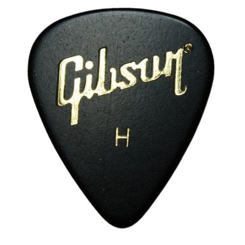 12 x Gibson Standard Gitarrenplektren In Plektrumdose Heavy