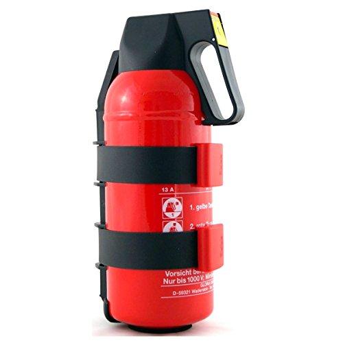 Kompakter Feuerlöscher 2 KG mit KFZ Auto Halterung