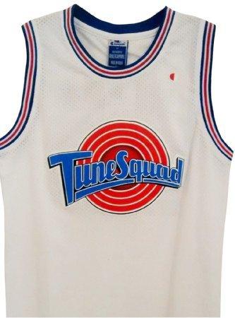 Camiseta de baloncesto Tune Squad de Taz. Camiseta de la película Space Jam, para adultos. Talla estándar americana XXLarge