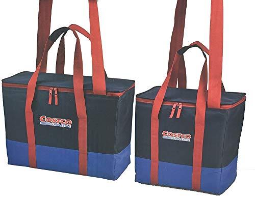 コストコ 保冷保温ショッピングバッグ 2個セット ネイビー レッド