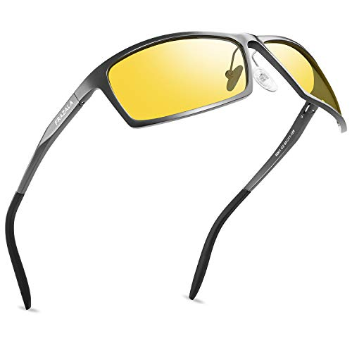 Men's HD Polarized Night Driving Glasses with Anti...