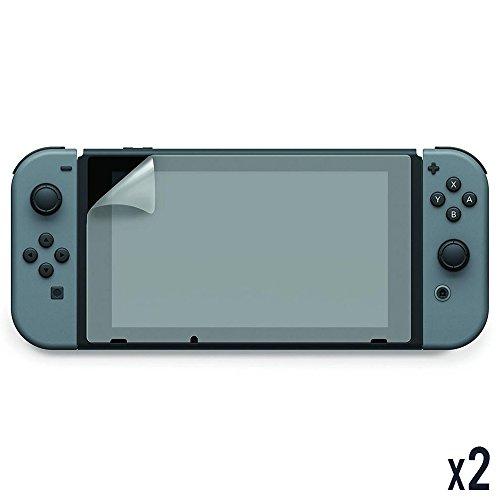 Hobby Tech - Lot de 2 Films de protection pour écran de Nintendo Switch