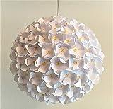Daisyflower, Ø 32cm, Papierlampe Hängelampe Lampe Lampenschirm Pendellampe Designerlampe...