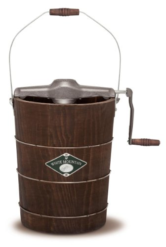 White Mountain Hand Cranked Ice Cream Maker with Appalachian...
