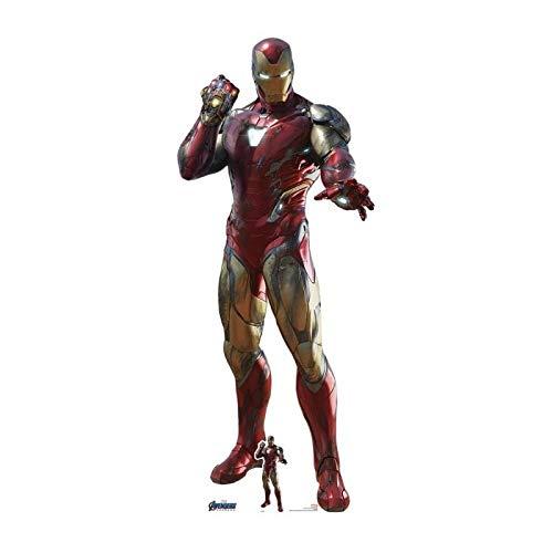 STAR CUTOUTS Ltd SC1391 Iron Gauntlet Endgame Collectors Edition lebensgroßer Pappaufsteller perfekt für Marvel's Avengers-Fans, Partys, Raumdekorationen und Fotos, 191 cm hoch, Infinity-Handschuh
