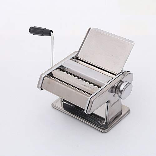 N\A Nudelmaschine Nudelmaschine LasagneWalze SpaghettiSchneider Inkl Schneidemesser Handkurbel Edelstahl