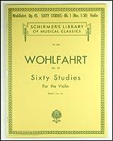 バイオリン教本 Wohlfahrt(ウォルファート)60 第2巻