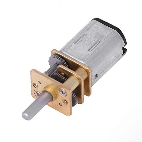 N20 DC 6 V 100 RPM Motor de reducción de velocidad con engranaje de reducción de velocidad para el robot de coche RC Modelo de Motor de DIY Mini juguete Motor