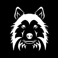 2、壁の入れ墨、壁のステッカー、装飾的な車のステッカー、ハスキー犬の顔の動物のステッカー/デカール、窓/眉毛/ライト/尾の装飾ステッカー、車、オートバイに使用、
