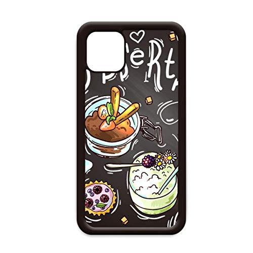 Desserts Chocolade Aardbei Frankrijk voor Apple iPhone 11 Pro Max Cover Apple mobiele telefoonhoesje Shell, for iPhone11 Pro Max