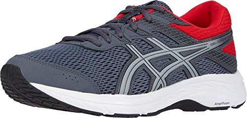 ASICS Men's Gel-Contend 6 Running Shoes, 13M, Carrier Grey/Sheet Rock