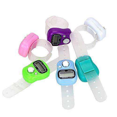 1 Stück zufällige Farbstichmarkierung und Reihenzähler mit LCD-Anzeige, elektronischer digitaler Zähler