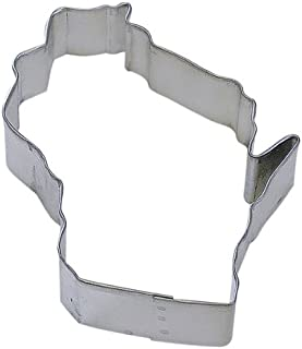 State of Wisconsin Tin Cookie Cutter 4