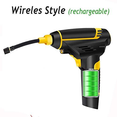 Inflador de neumáticos para automóviles Digital Inteligente LED coche bomba de aire del compresor portátil de mano del coche bomba de aire eléctrica del neumático del 150 PSI reparación de herramienta
