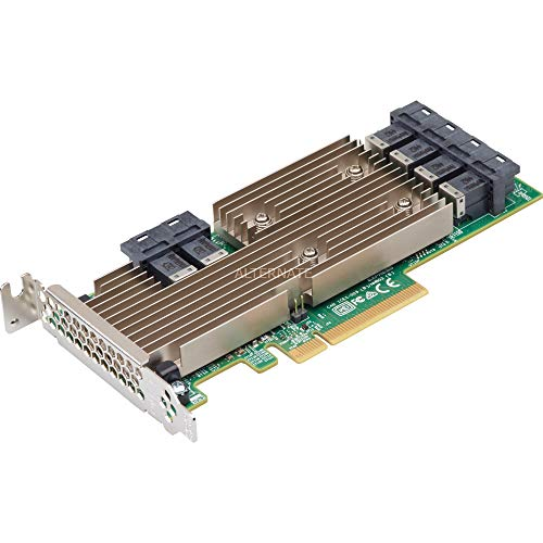 LSI Logic Controller Card 05-25699-00 9305-24i 24-Port SAS 12Gb/s PCI-Express 3.0 Host Bus Adapter Single Pack